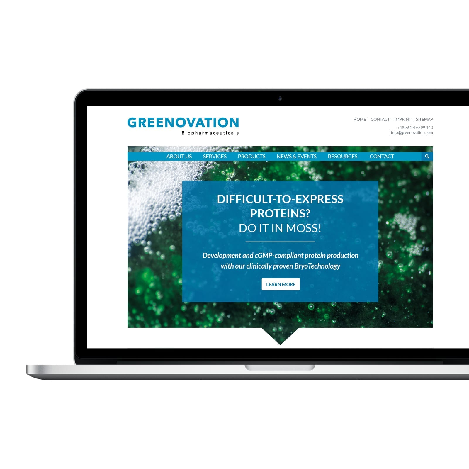 Greenovation und Eleva GmbH Referenz der Agentur RIGHT Marketing Berlin.