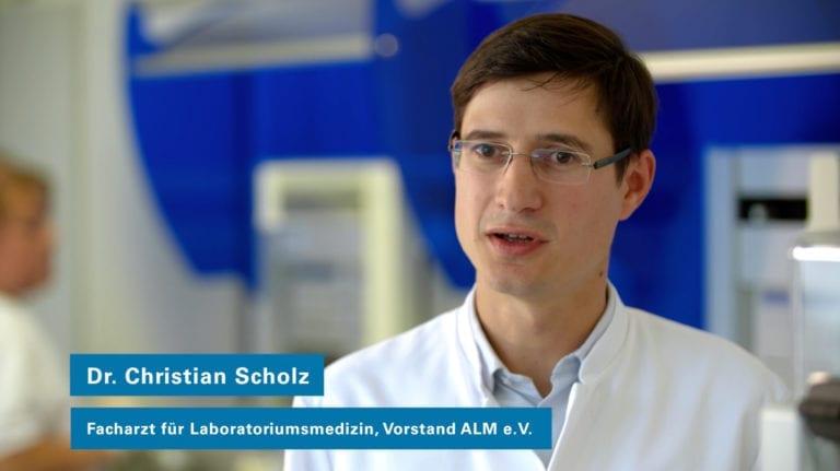 Akkreditierten Labore in der Medizin – ALM e.V. Video Film Realisierung Referenzbeitrag der Agentur RIGHT Marketing Berlin.