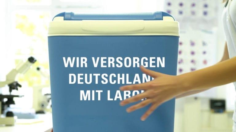 Akkreditierten Labore in der Medizin – ALM e.V. Video Kampagne Wir versorgen Deutschland mit Labor Referenz der Agentur RIGHT Marketing Berlin